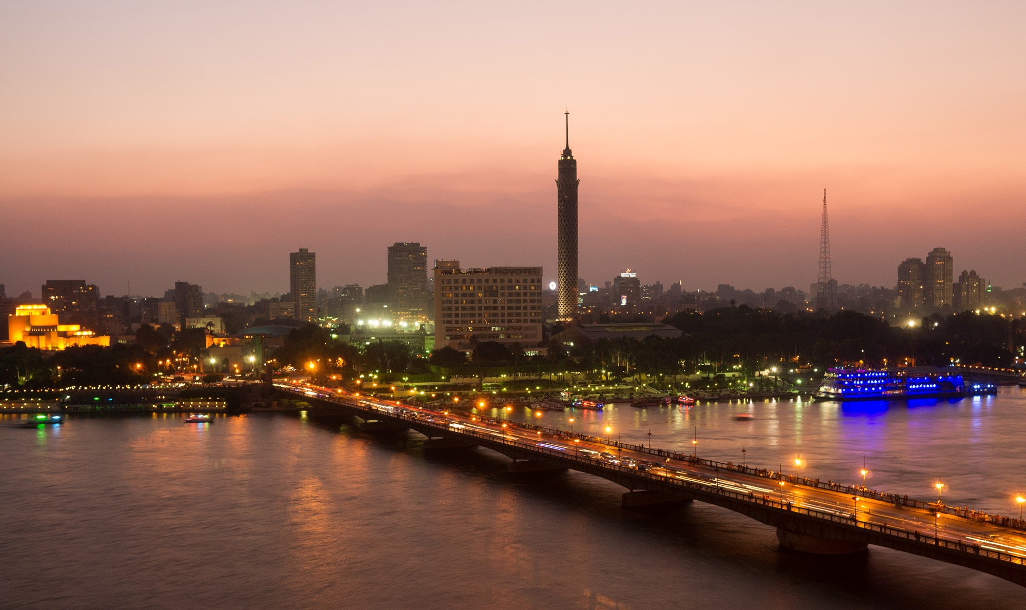 Cairo in Two Days from Port of Suez
